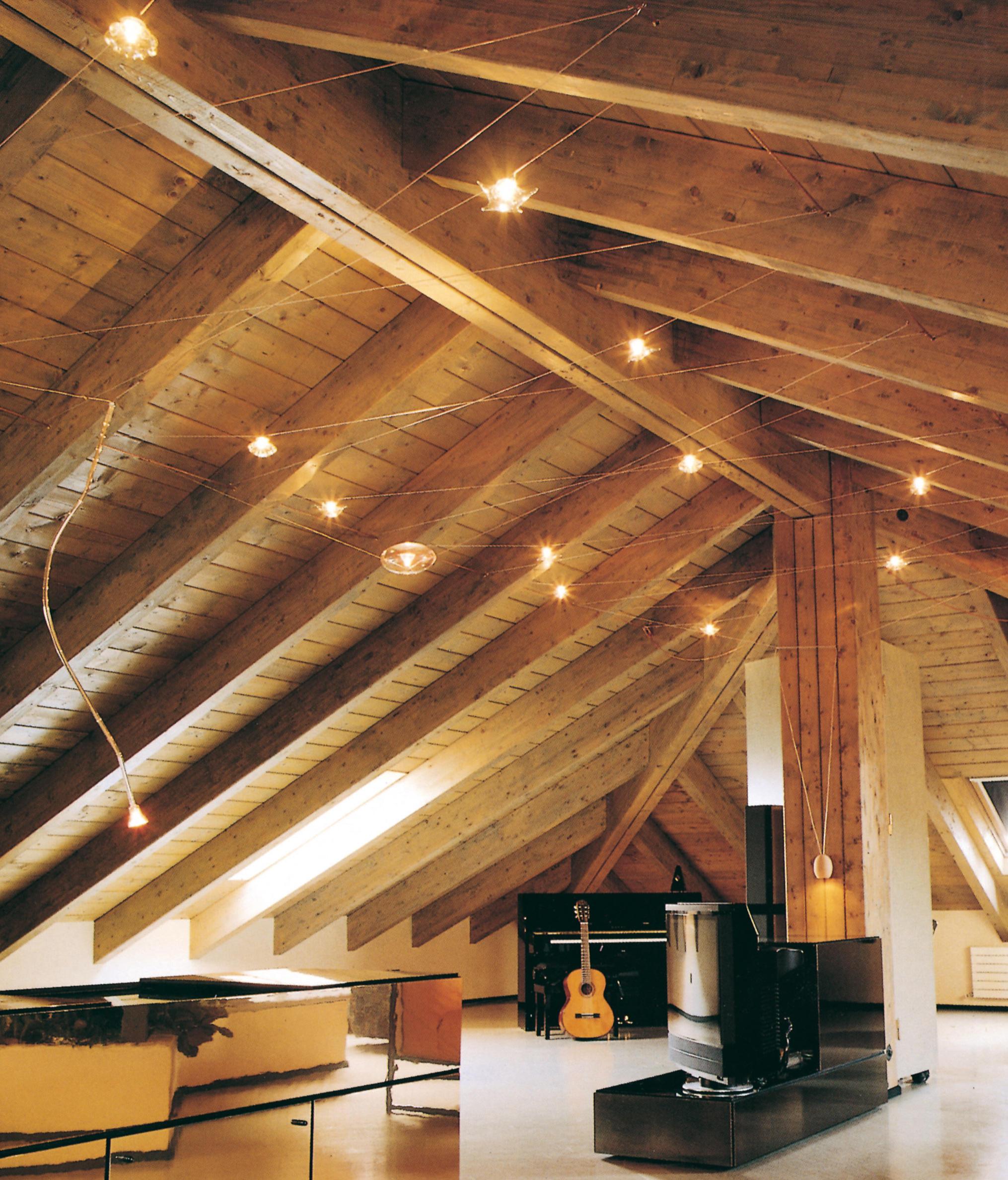 Punto luce e illuminazione for Lampadari a led per interni